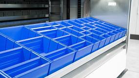 Foto de SSI Schaefer instala en Johnson Controls-Hitachi sus armarios verticales Logimat
