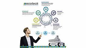 Foto de Ecoteck da a conocer su sistema de desinfección inteligente