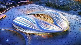 Foto de Salvi, la española que ilumina el Estadio Al Wakrah para el Mundial 2022 en Qatar