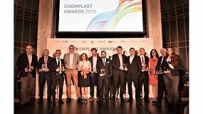 Foto de Repsol, Dow, la UCM y Eurecat, ganadores de los ChemPlast Awards 2019
