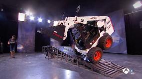Foto de Una cargadora compacta Bobcat S450, protagonista en el programa El Hormiguero 3.0