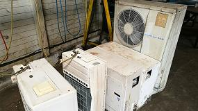 Foto de Un aparato de aire acondicionado no reciclado genera la misma cantidad de CO2 que 250 coches circulando diariamente