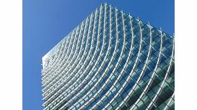 Foto de Castellana 77, la renovación de un edificio sostenible y cambiante con fachada de vidrio Guardian Glass