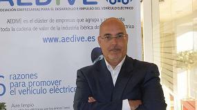 Foto de Entrevista a Arturo Pérez de Lucia, director gerente de Aedive