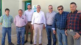 Foto de Una representación de Proselco visita las instalaciones de Ilunion Reciclados en La Bañeza