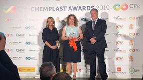 Foto de Eurecat, TRC y Menzolit, 'Mejor caso de éxito colaborativo de Economía Circular' en los ChemPlast Awards