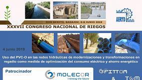 Foto de Molecor, empresa patrocinadora en el XXXVII Congreso Nacional de Riegos AERyD