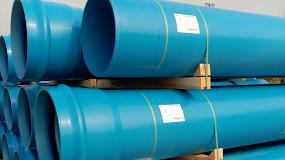 Foto de Renovación de la red de abastecimiento de agua con tuberías TOM de PVC Orientado (PVC-O) para la Cooperativa de Riegos de Moncofa
