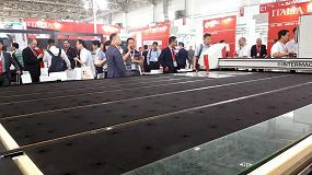 Foto de Intermac experimenta en China Glass con la compañía digital del mañana