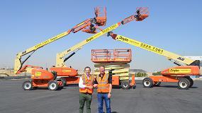 Foto de La empresa kuwaití Dayim Equipment Rental adquiere 77 plataformas JLG