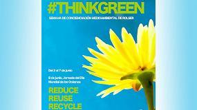 Foto de Jornadas de Concienciación Medioambiental de Rolser, dentro de su campaña #ThinkGreen