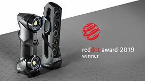 Foto de Los escáneres HandyScan Black y Go!Scan Spark de Creaform recibieron el premio Red Dot Awards por diseño del producto