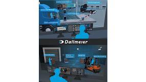Foto de Dallmeier muestra la interacción entre tecnología de vídeo moderna y gestión de datos en la transport logistic 2019 en Múnich