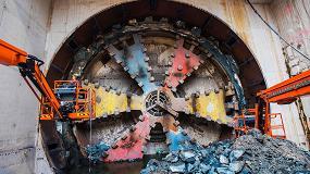 Foto de Herrenknecht utiliza con éxito una tuneladora saneada en La Haya