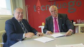 Foto de Tecnifuego y Asis firman un Convenio de Colaboración