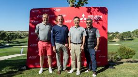 Foto de El golfista Miguel Ángel Jiménez en el 'Golf Day' exclusivo de Mitsubishi Electric