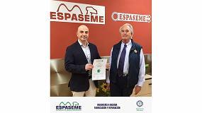Foto de Espaseme obtiene el sello de norma Cedec de calidad empresarial y reafirma así su colaboración