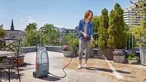 Foto de Nuevo set limpiadora de alta presión AquaClean con batería Li 40 V de Gardena