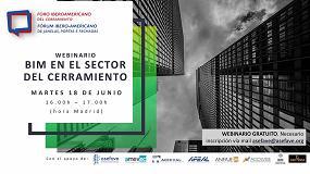 Foto de Asefave y el Foro Iberoamericano del Cerramiento organizan un webinario sobre BIM