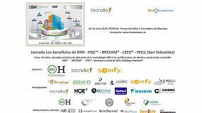 Foto de BioEconomic y Tecnalia organizan la jornada 'Los beneficios de BIM aplicados a HQE - Breeam - Leed - Well', en San Sebastián
