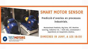 Foto de Test Motors imparte un seminario sobre mantenimiento predictivo de motores en la sede de EIC
