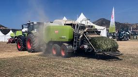 Foto de Demoagro 2019: Claas puso en liza tractores y equipos de recolección