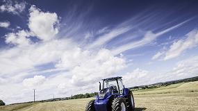 Foto de New Holland y su tractor de metano participarán en el Congreso Mundial de Biogas