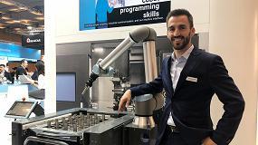Foto de Entrevista a Ignacio Moreno, ingeniero técnico comercial de Universal Robots