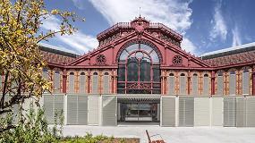 Foto de GEZE en la rehabilitación del Mercat de Sant Antoni, Barcelona