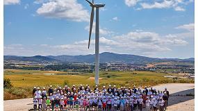 Foto de La AEE celebra el Dia del Viento en Barásoain, modelo de desarrollo socioeconómico en el entorno rural gracias a la eólica