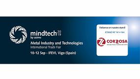 Foto de Corzosa estará presente en Mindtech Vigo del 10 al 12 de septiembre