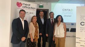 Foto de Meat Attraction presenta sus propuestas de internacionalización y desarrollo a la industria cárnica de Navarra