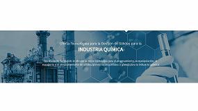 Foto de Techsolids presenta su nuevo buscador de productos dirigido en exclusiva al sector químico