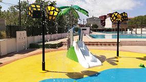 Foto de Alcàsser inaugura la temporada de baño con un nuevo parque de agua Isaba sin profundidad para los más pequeños