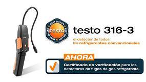 Foto de Testo ofrece un nuevo servicio de calibración para detectores electrónicos de fugas de gas refrigerante