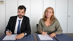Foto de Convenio de colaboración entre Fegeca y Aenor para fomentar la formación en normas UNE