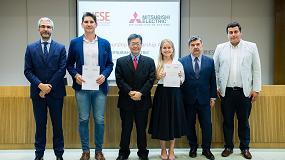 Foto de Mitsubishi Electric concede una beca de 20.000 euros para la formación de jóvenes emprendedores en el IESE