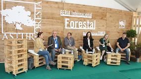 Foto de Cose defiende en Asturforesta el asociacionismo y la gestión forestal sostenible