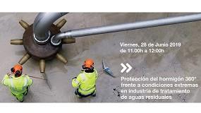 Foto de BASF desarrolla el webinar 'Protección 360º del hormigón en estaciones depuradoras de aguas residuales'