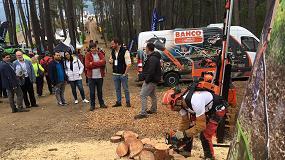 Foto de Bahco estuvo presente en Asturforesta (Tineo, Asturias), con sus máquinas a batería.