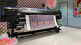 Foto de La presentación de la impresora híbrida Mimaki pone de relieve la accesibilidad de la impresión textil