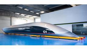 Foto de Sisteplant diseña la Fábrica del Futuro para el montaje de la cápsula HyperloopTT