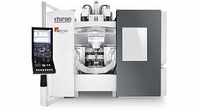 Foto de El centro de mecanizado Chiron serie FZ 16 FX estará en la EMO 2019