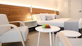 Foto de Lunawood de Gabarró, un producto versátil y sostenible también para espacios Contract