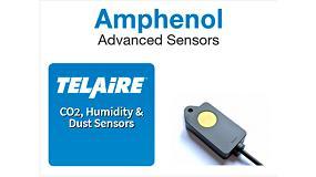 Foto de Serie T3022 Sensor de CO2 T6713 con protección IP65