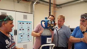 Foto de Europa pone a prueba los conocimientos de CO2 y gases inflamables de profesores de Centros de Formación
