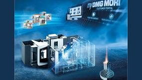Foto de DMG MORI da forma al futuro digital en EMO 2019