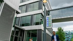 """Foto de El nuevo poste inteligente BrightSites de Signify """"alimenta la infraestructura inteligente de las ciudades"""""""