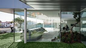 Foto de Technal en la Casa Nube, máxima conexión con la naturaleza