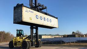 Foto de Progreso de los proyectos de manipuladores de contenedores eléctricos de Hyster